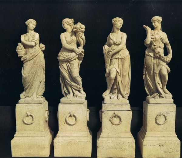 Gartenfigur Statue Serie Quattro Stagioni 10427 IP