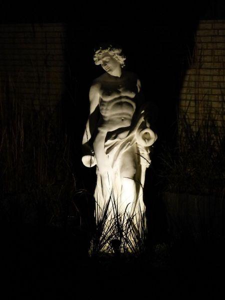 Gartenfigur Statue Bacco