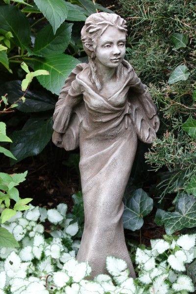 """Gartenfigur Fee """"VIOLET"""", Steinguss © by Fiona Scott"""