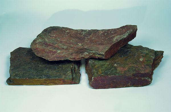 Belg.Rot Braun Bunt polygonal