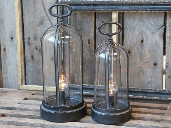 Franz Glocken Laterne mit Glühbirne/Timer von Chic Antique
