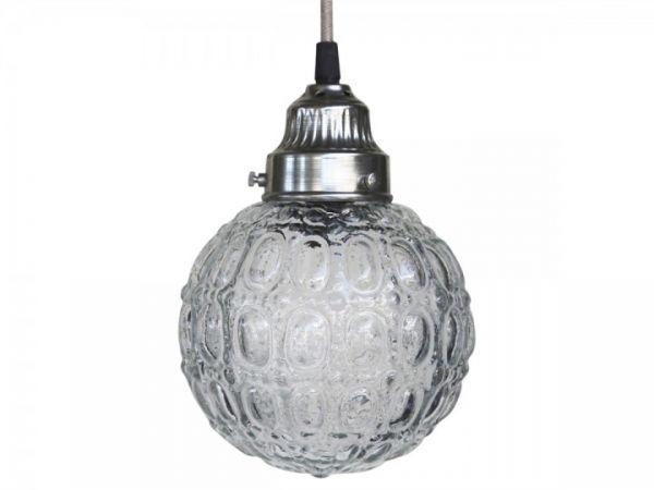 Lampe Kugel mit Muster von Chic Antique