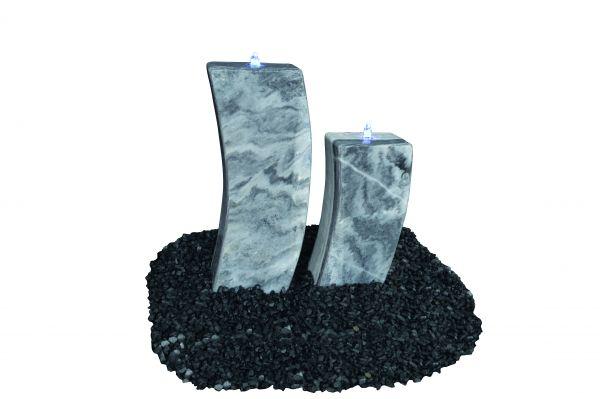 Marmor Wasserspiel Curve