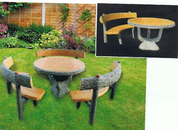 Gartentisch mit Gartenbank 4150 + 4120 IP
