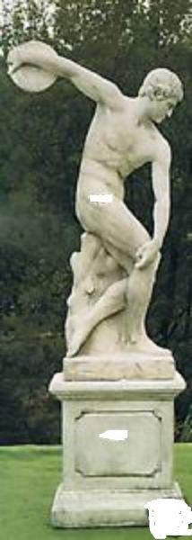 Gartenfigur Statue Discobolo (ohne Sockel)