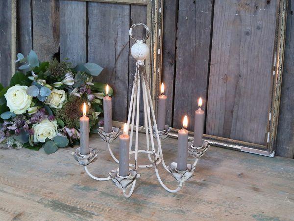Kerzenhalter für 6 Kerzen von Chic Antique