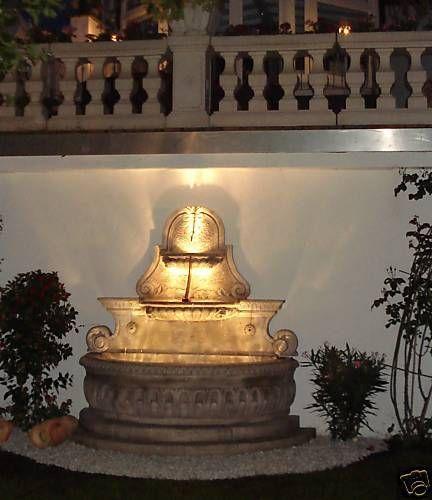 Wandbrunnen Fontana Cava a muro