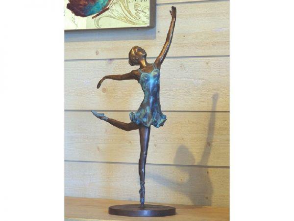 Bronzefigur Prima Ballerina