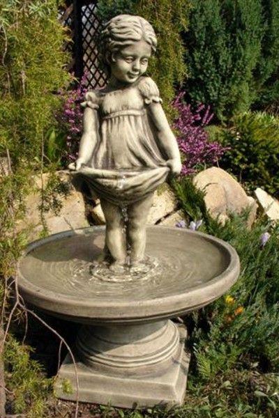 Sterntaler Steinguss Brunnen