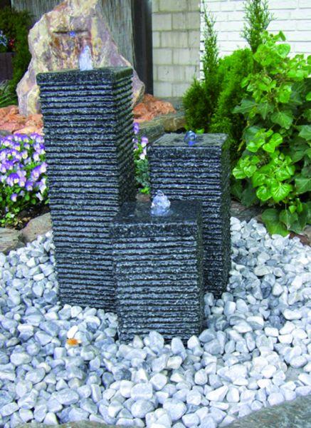 Granit-Wasserspiel Flow
