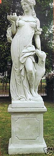 Gartenfigur Statue KL7002 DG (ohne Sockel)