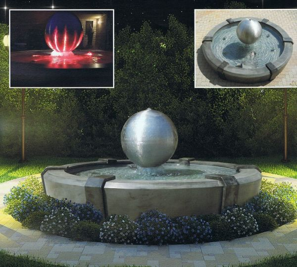 Springbrunnen Saturn Made in Italy