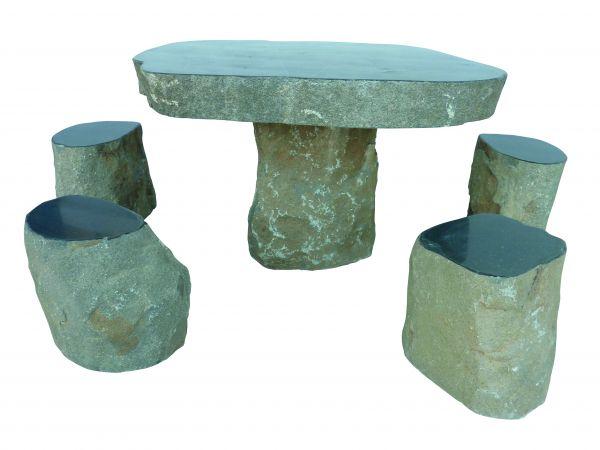 Basalt Sitzgruppe