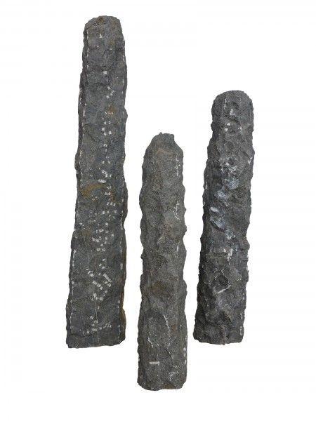 Aqualisk gebohrt 80 cm Blue Limestone