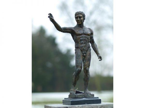 Bronzefigur Skulptur Mann 45 cm