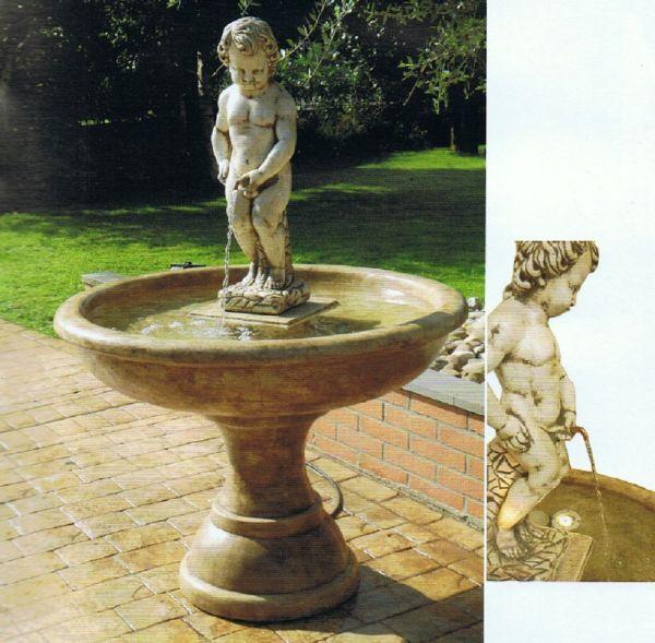 Springbrunnen Brüssel Made in Italy