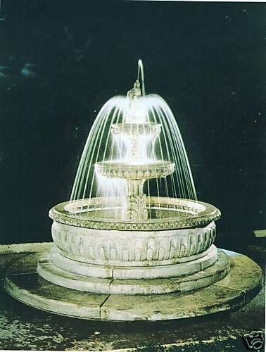 Springbrunnen/Etagenbrunnen Cava Made in Italy