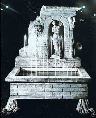 Wandbrunnen Sassari