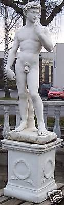 Gartenfigur David (ohne Sockel)