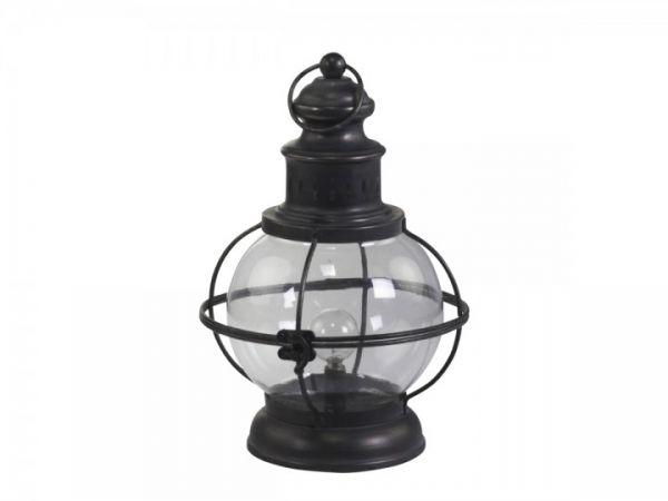 Franz. Stalllaterne inklusive Glühbirnen von Chic Antique