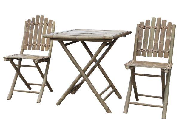 Lyon Garten Set 1Tisch & 2 Stühle von Chic Antique