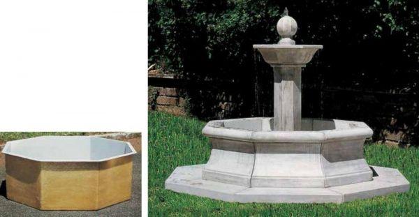 Springbrunnen Marsiglia Made in Italy
