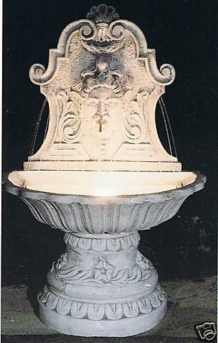 Wandbrunnen Barocco Made in Italy