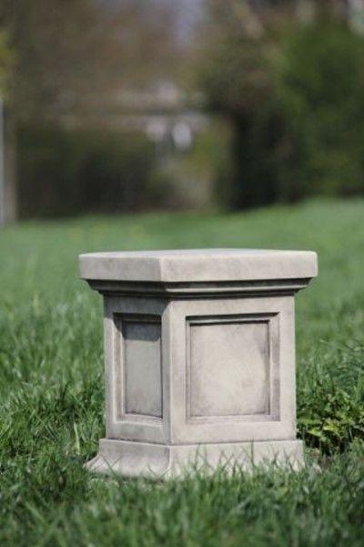 Gartenfigur Säule aus Steinguss, geeignet f.z.B.114130