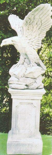 Gartenfigur Adler 6073 DA (ohne Sockel)