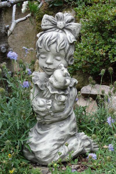 """Gartenfigur Sarah Kay """"LEONIE"""", Steinguss"""