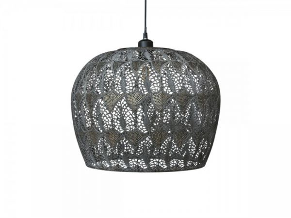 Vire alte Lampe mit Muster groß von Chic Antique