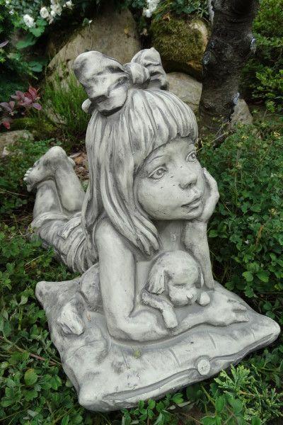 """Gartenfigur Sarah Kay """"LINA"""", Steinguss"""