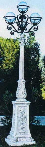 Gartenlampe Con 4 Globi 12 1459 IG