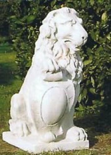 Gartenfigur Löwe