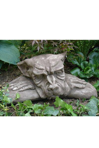 """Gartenfigur """"FENSTERHOCKER GARGOYLE"""" faul © by Fiona Scott"""