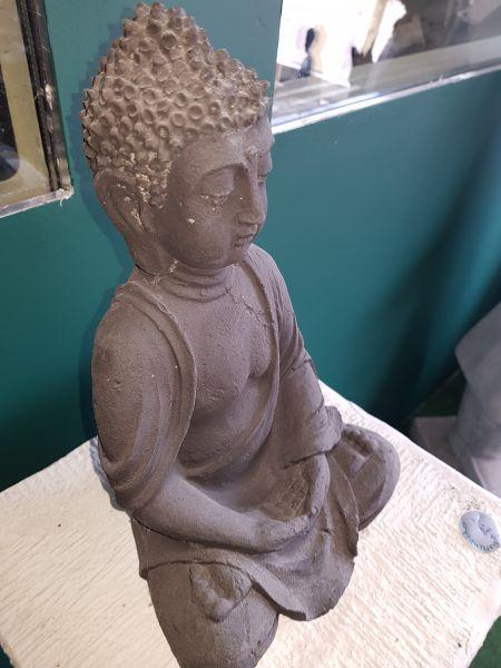 Gartenfigur Buddha klein