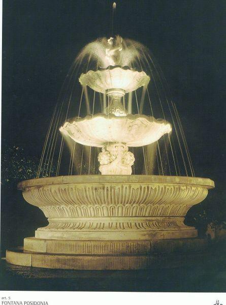 Springbrunnen/Etagenbrunnen Posidonia Made in Italy
