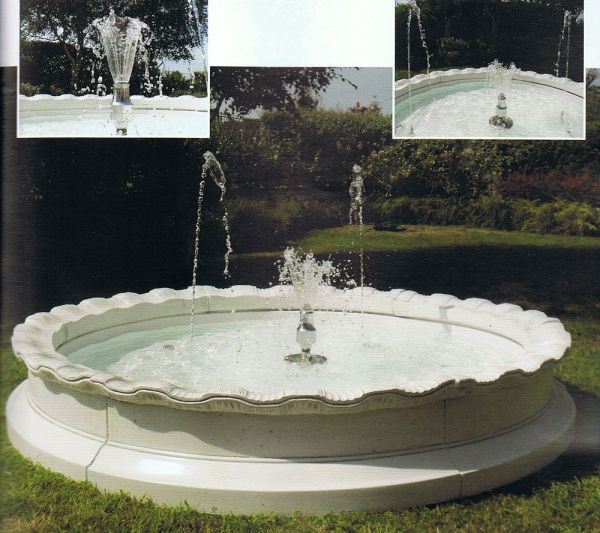 Springbrunnen Lucca Made in Italy
