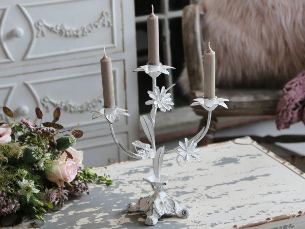 Franz. Kerzenständer mit 3 Armen von Chic Antique
