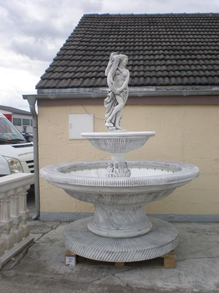 Springbrunnen Crotone 11 SG 2 mit LED Beleuchtung Made in Italy