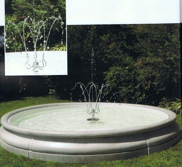 Springbrunnen Trieste Made in Italy