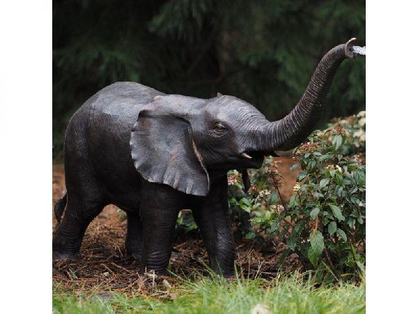 Bronzefigur Kleiner Elefant
