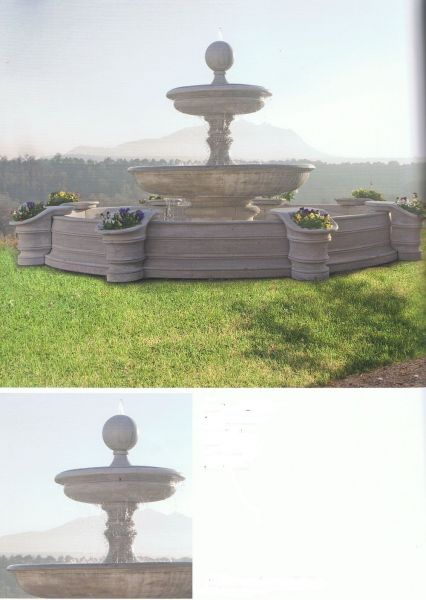 Springbrunnen/Etagenbrunnen Doha Made in Italy