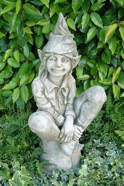 """Gartenfigur Elfe """"SUSAN"""", Steinguss, © by Fiona Scott"""