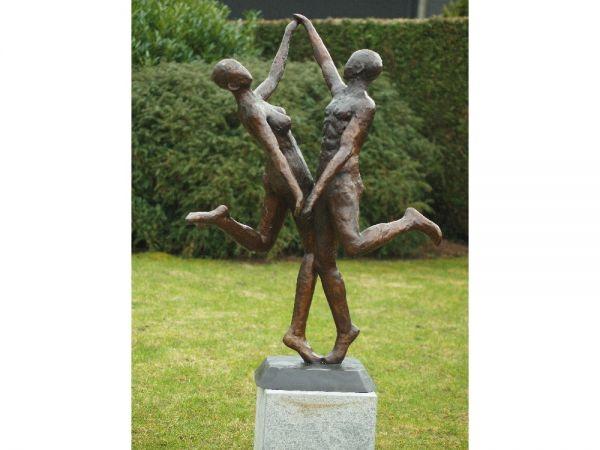 Bronzefigur Modernes Tanzpaar