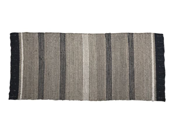 Teppich mit schwarzem Rand von Chic Antique