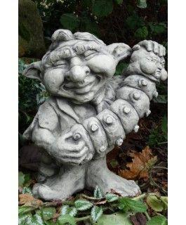 """Gartenfigur Musiker-Troll """"Akkordeon"""""""