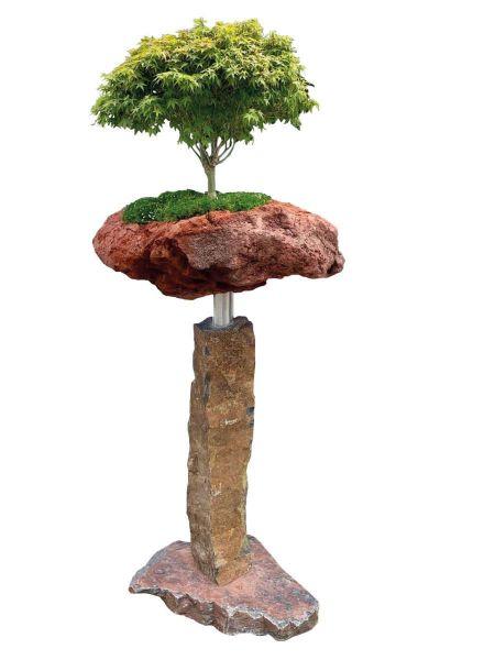 Bonsai-Minigarten Kategorie 1 Basaltpalisade von Naturstein Geukes