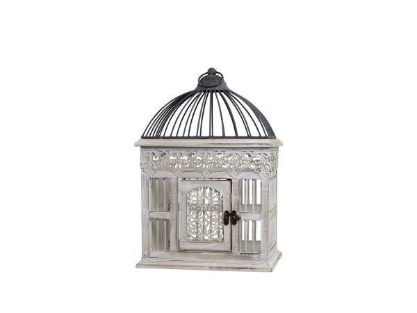 Vogelkäfig mit Dekor Kante von Chic Antique