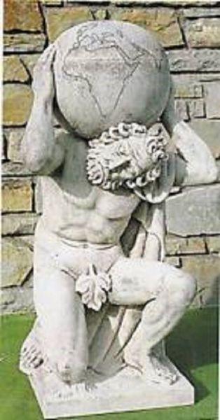 Gartenfigur Statue Atlante 4041 DA Schanetti
